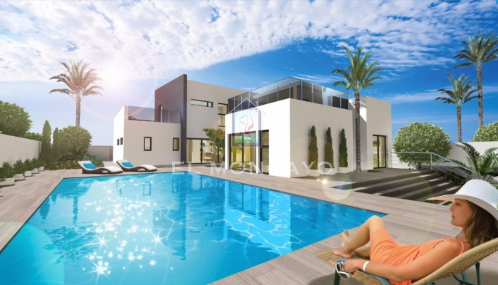 Detached villa of new construction in Torrevieja