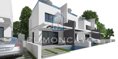 Semi Detached House - New build - Orihuela Costa - Villamartin